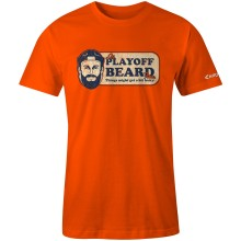 Chirp! Playoff Beard T-Shirt (Orange)