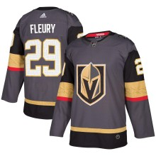 Marc-Andre Fleury Vegas Golden Knights adidas  NHL Authentic Pro Home Jersey - Pro Stitched