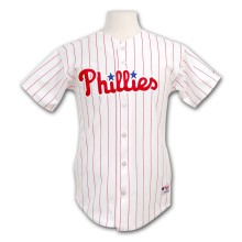 Philadelphia Phillies Youth Authentic Home MLB Baseball Jersey