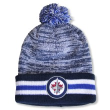 Winnipeg Jets NHL Granite Cuff Pom Knit Hat