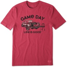 Life is Good Men's Game Day Crusher Tee