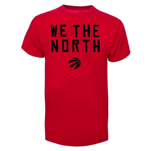 Toronto Raptors NBA '47 We The North T-Shirt (Red)