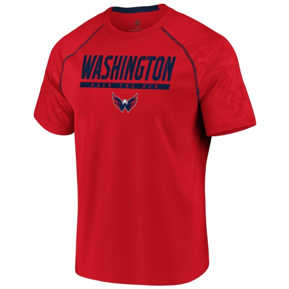 Washington Capitals NHL Team Mission Synthetic T-Shirt