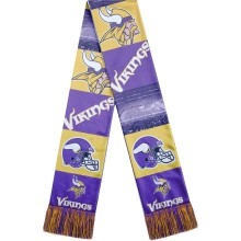 Minnesota Vikings NFL Sublimated Printed Logo Scarf