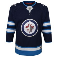 Winnipeg Jets NHL Premier CHILD (4-7) Replica Home Hockey Jersey