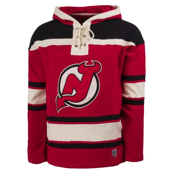 New Jersey Devils NHL OTH Heavyweight Jersey Lacer Hoodie