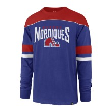 Quebec Nordiques NHL '47 Win Streak Long Sleeve T-Shirt