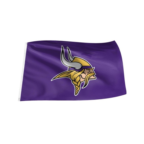 Minnesota Vikings NFL 3' x 5' Team Logo Flag