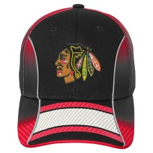 Chicago Blackhawks Youth NHL Stripe Fade Cap | Adjustable