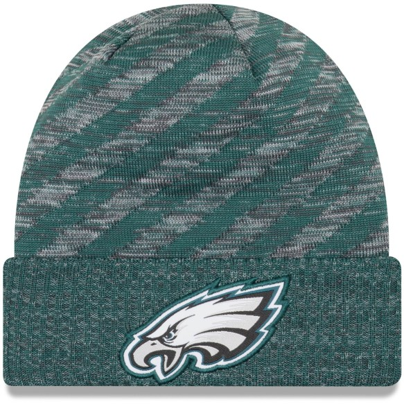 Philadelphia Eagles New Era 2018 NFL Official Sideline TD Knit Hat