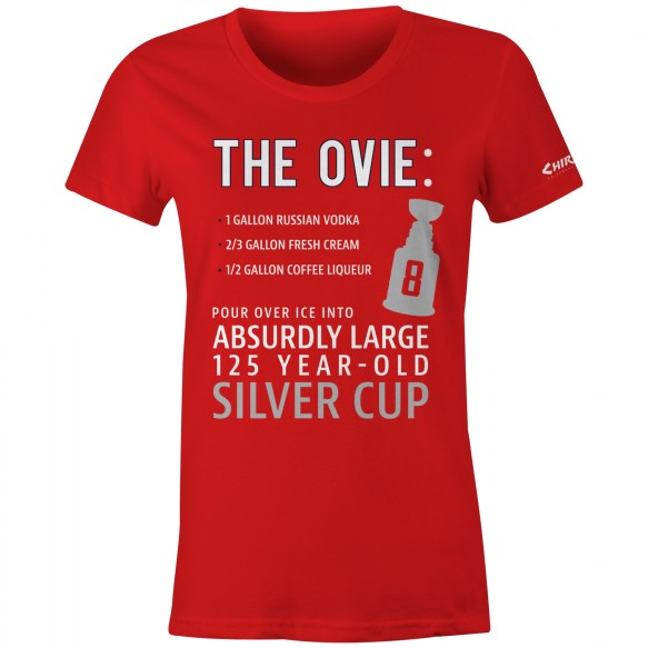 The Ovie Women's T-Shirt (Red)