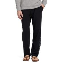 Life is Good Men's Vert Logo Simply True Lounge Pant - Jet Black