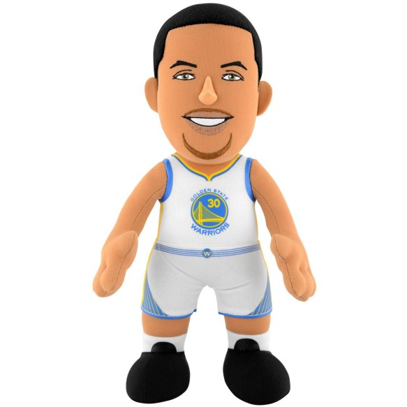 "Golden State Warriors Steph Curry 10"" NBA Plush Bleacher Creature"