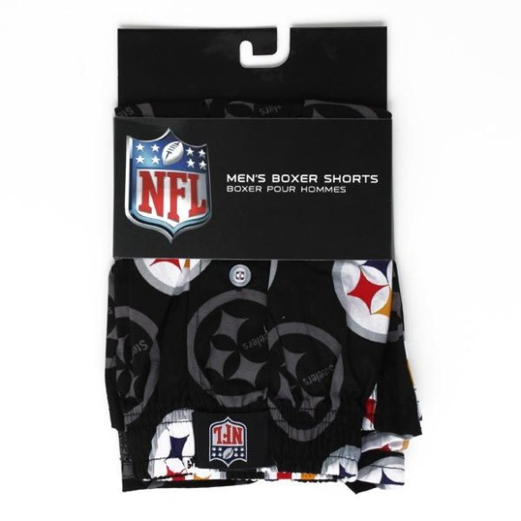 Pittsburgh Steelers Team Logo Boxer Shorts
