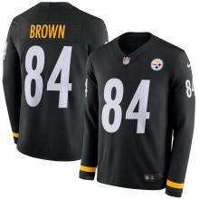 Coton-ouaté Chandaille Therma Nike NFL Antonio Brown des Steelers de Pittsburgh