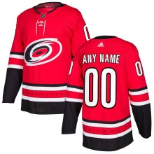 Carolina Hurricanes ANY NAME adidas NHL Authentic Pro Home Jersey - Pro Stitched