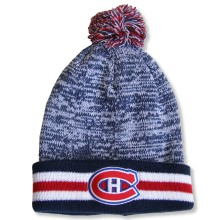 Montreal Canadiens NHL Granite Cuff Pom Knit Hat