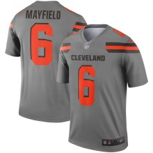 Cleveland Browns Baker Mayfield NFL Nike Inverted Legend Jersey