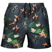 Vegas Golden Knights NHL Men's Floral Slim Fit Swim Suit Trunks