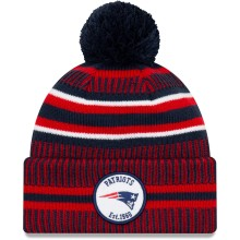 New England Patriots 2019 NFL Official Sideline Home Cold Weather Sport Knit Hat