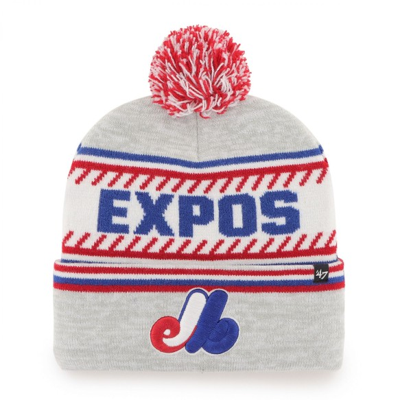 Montreal Expos MLB '47 Ice Cap Cuff Pom Knit Hat