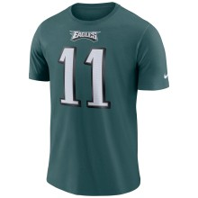 Philadelphia Eagles Carson Wentz NFL Nike Player Pride 3.0 Name and Number DRI-FIT T-Shirt