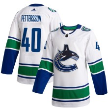 Elias Pettersson Vancouver Canucks adidas NHL Authentic 2019-20 Pro Road Jersey - Pro Stitched