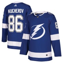Nikita Kucherov Tampa Bay Lightning adidas NHL Authentic Pro Home Jersey - Pro Stitched
