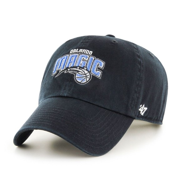 Orlando Magic NBA '47 Clean Up Cap - Black | Adjustable