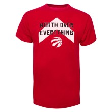 Toronto Raptors NBA '47 North Over Everything T-Shirt (Red)