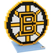 Boston Bruins NHL 3D Logo BRXLZ Puzzle