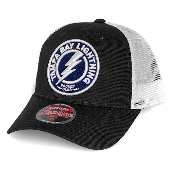 Tampa Bay Lightning NHL Zephyr Big Logo Meshback Cap | Adjustable