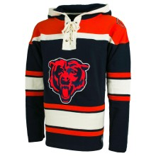 Chicago Bears NFL '47 Heavyweight Jersey Lacer Hoodie