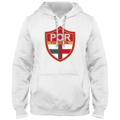 Portugal Futebol MyCountry Express Twill Logo Hoodie - White