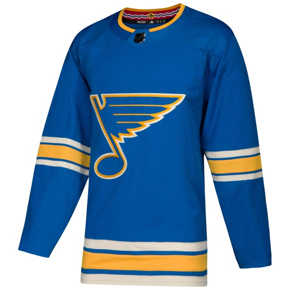 St. Louis Blues adidas adizero NHL Authentic Pro Alternate Jersey