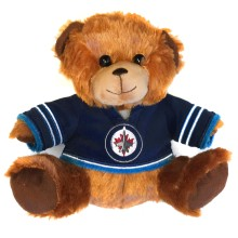 Winnipeg Jets NHL 7.5 inch Seated Jersey Sweater Bear