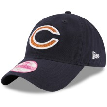 Chicago Bears NFL New Era Women's Team Glisten Relaxed Fit 9TWENTY Cap