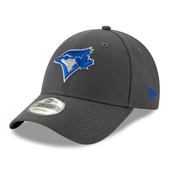 Casquette MLB New Era The League Graphite 9Forty des Blue Jays de Toronto