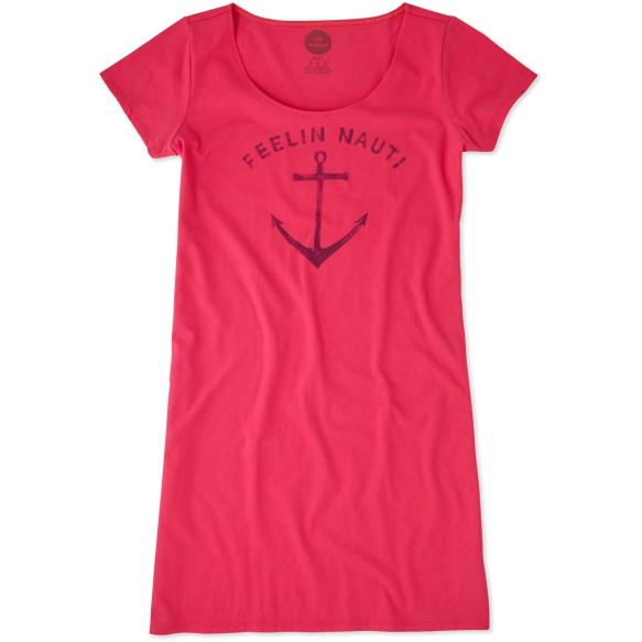 Life is Good Women's Feelin Nauti Sleep Tee Dress