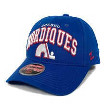 Quebec Nordiques Zephyr Sport Arch Cap - Royal | Adjustable