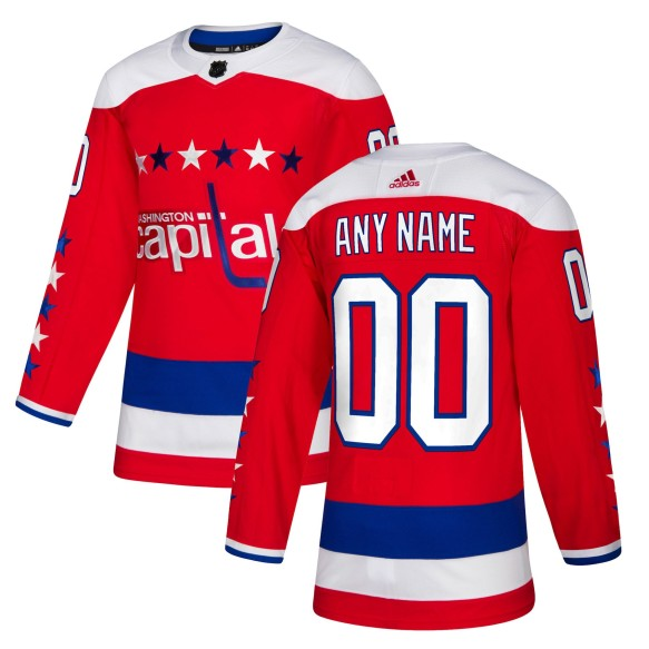 Washington Capitals ANY NAME adidas  NHL Authentic Pro Alternate Jersey - Pro Stitched