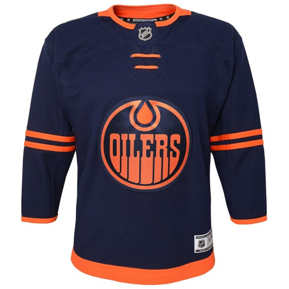 Edmonton Oilers NHL 2019-20 Premier Youth Replica Alternate Hockey Jersey