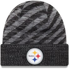 Pittsburgh Steelers New Era 2018 NFL Official Sideline TD Knit Hat