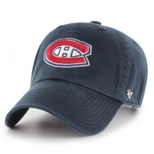 Montreal Canadiens NHL `47 Clean Up Primary Cap - Navy | Adjustable