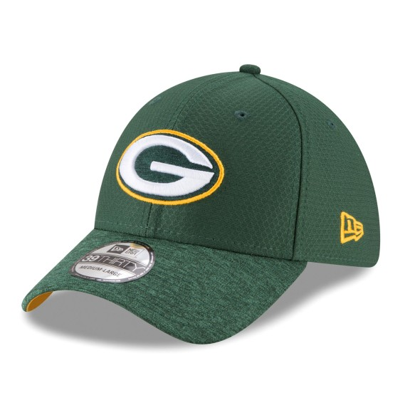 Casquette NFL New Era Popped Shadow 39THIRTY des Packers de Green Bay