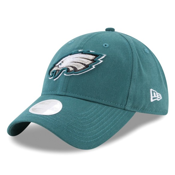 Philadelphia Eagles NFL New Era Women's Team Glisten Relaxed Fit 9TWENTY Cap | Adjustable