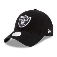 Oakland Raiders NFL New Era Women's Team Glisten Relaxed Fit 9TWENTY Cap | Adjustable