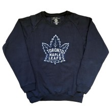 Toronto Maple Leafs Vintage Cross Hatch Crew - 1939 Logo