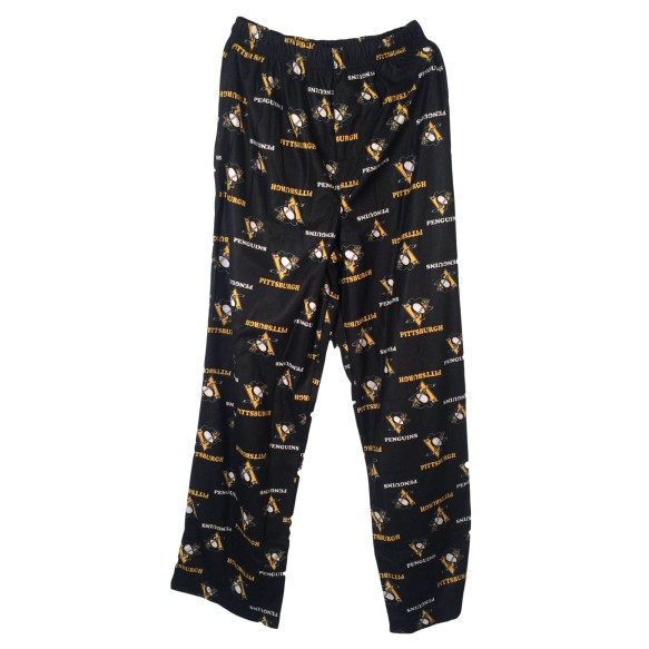 Pittsburgh Penguins NHL Youth Flannel Sleeper Pants