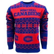 Montreal Canadiens NHL 2019 Ugly Crewneck Sweater